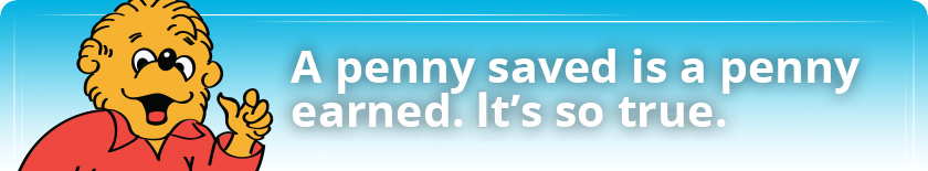 Kids Accounts - A penny saved is a penny earned. It's so true.