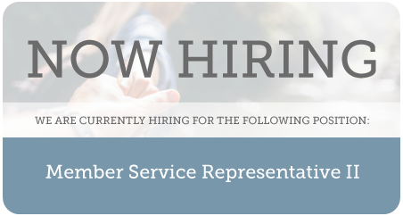 Now Hiring at Providence FCU!