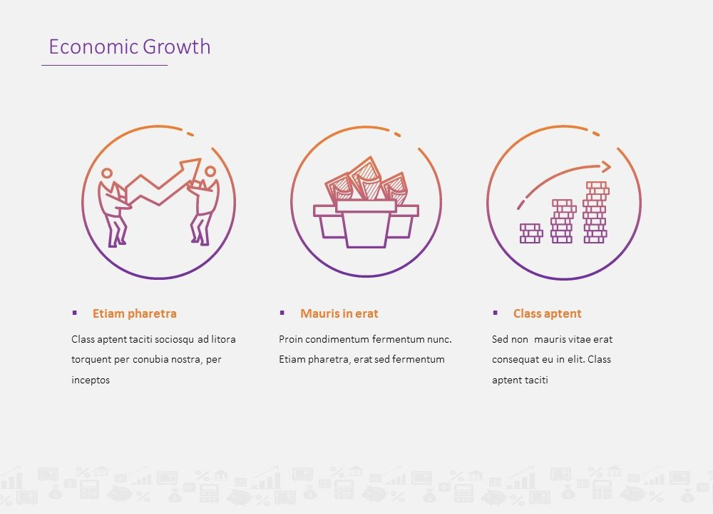 Free economic growth powerpoint template toneelgroepblik Image collections