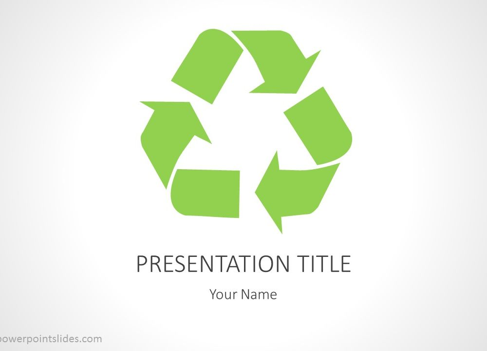 Recycling powerpoint background download our free recycling powerpoint template that can be used in presentations that cover recycling the environment or general green topics toneelgroepblik Gallery