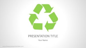 Free Recycling PowerPoint Background