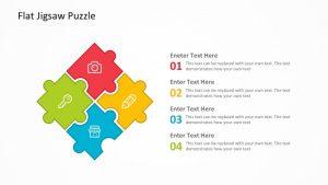 Swot jigsaw template flat jigsaw puzzle powerpoint template toneelgroepblik Image collections