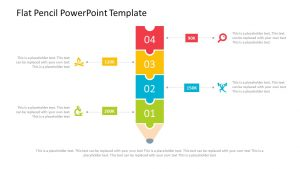Flat Pencil PowerPoint Template
