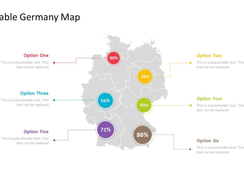 Powerpoint template for germany with regions pslides powerpoint template for germany with regions toneelgroepblik Images