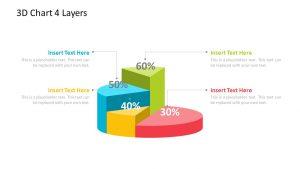 3D Chart PowerPoint Diagram