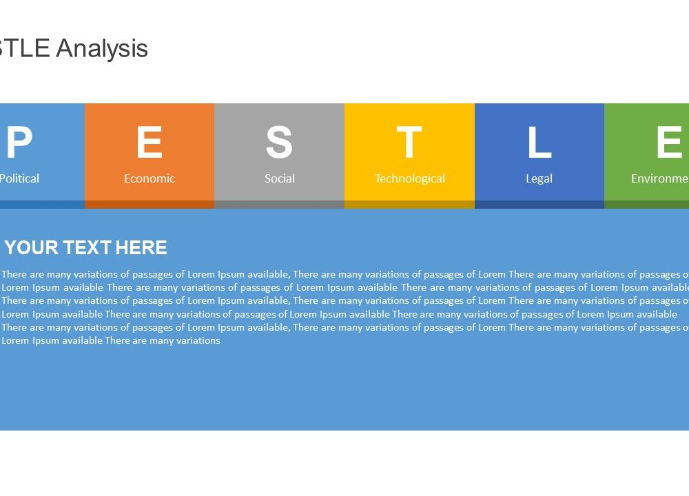 PESTLE Analysis PowerPoint Template -2 - Pslides