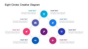 Eight Circles Creative Diagram