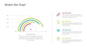 Modern Bar Graph for PowerPoint