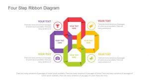 Four Step Ribbon Diagram