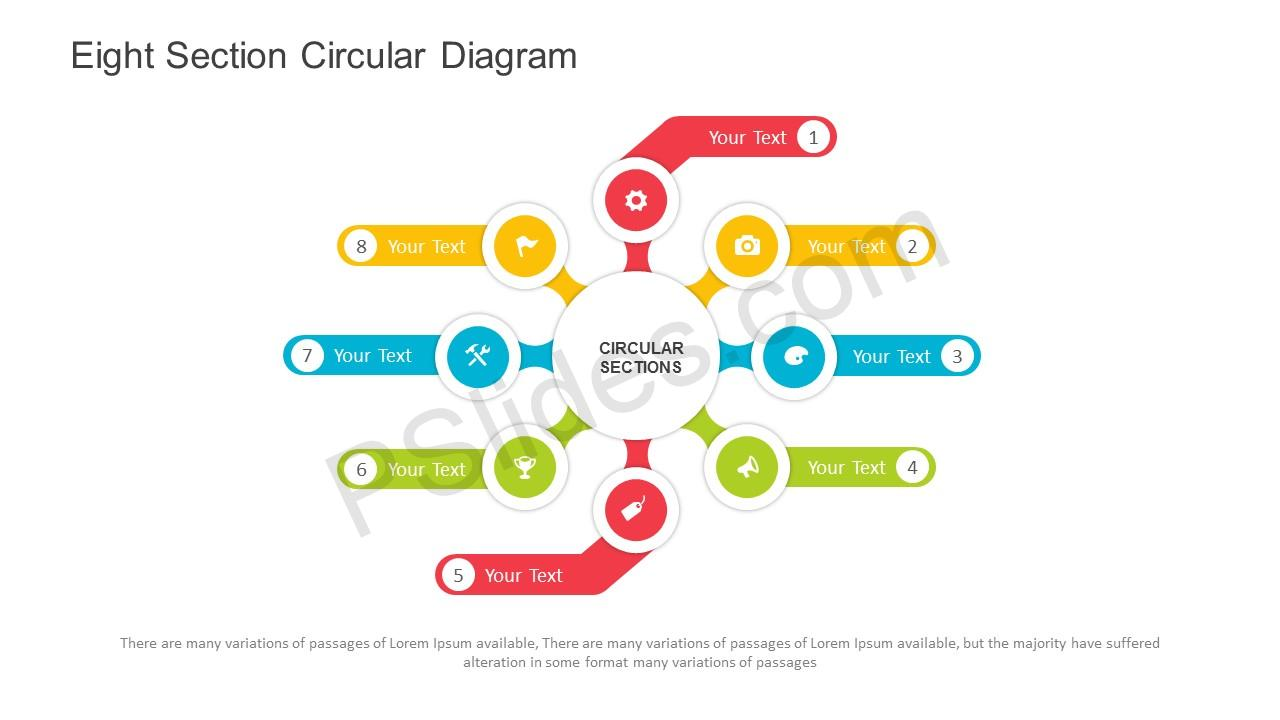 Free eight section circular diagram powerpoint template eight section circular diagram powerpoint template slide1 ccuart Images