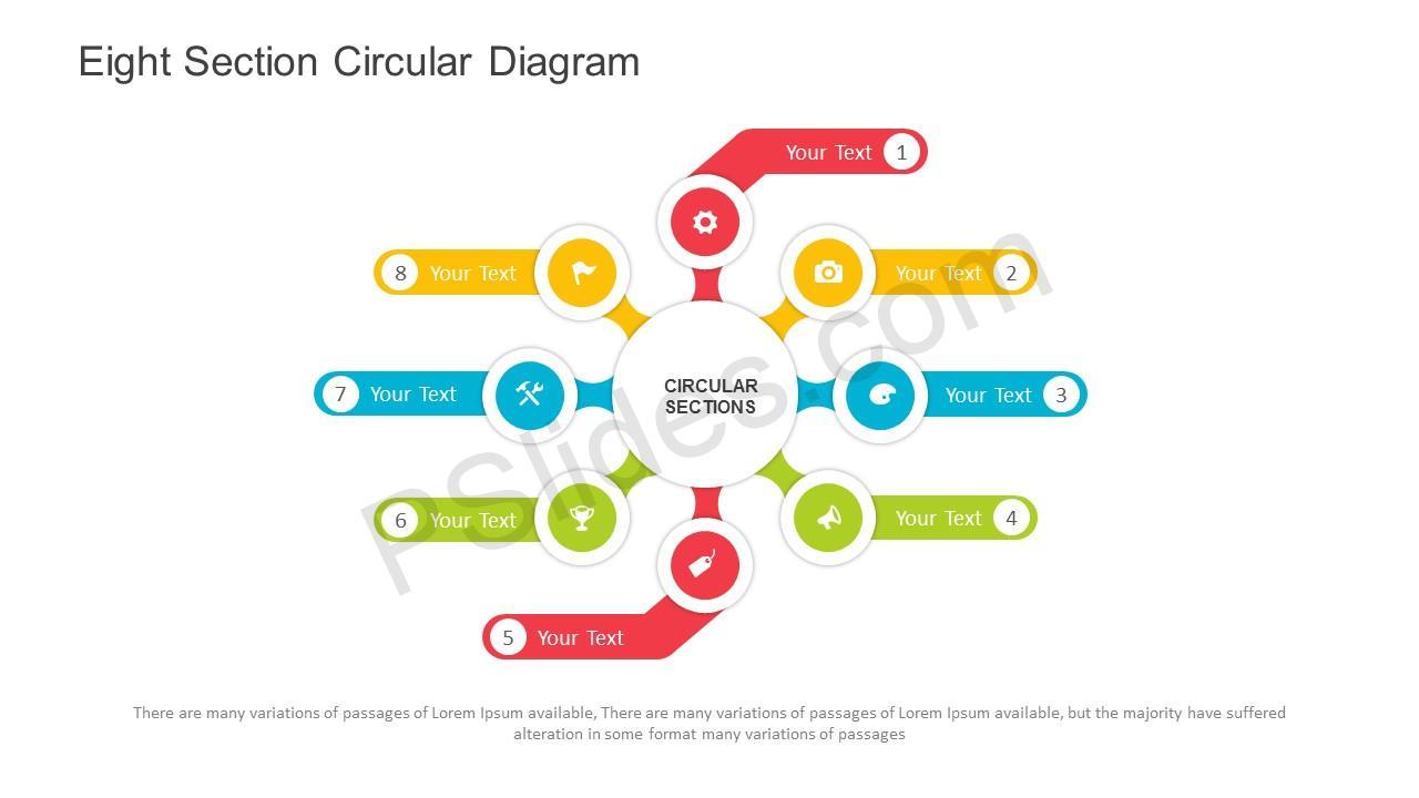 Free eight section circular diagram powerpoint template eight section circular diagram powerpoint template slide1 toneelgroepblik Gallery
