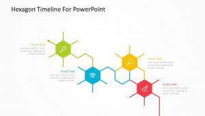 Hexagon Timeline For PowerPoint