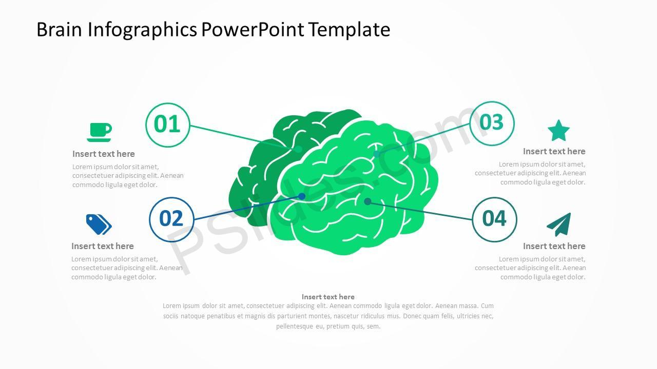 Brain infographics powerpoint template pslides brain infographics powerpoint template 1 brain infographics powerpoint template 2 toneelgroepblik Images