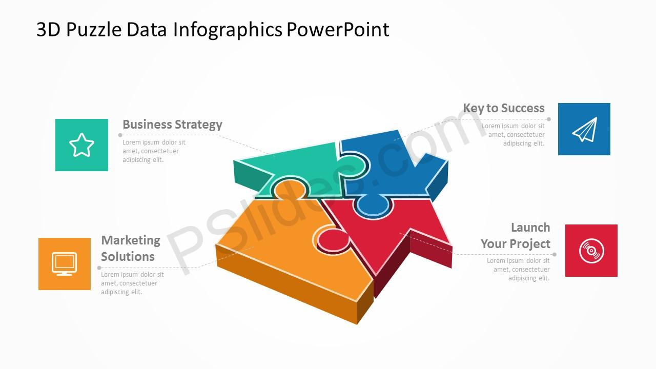 3d puzzle data infographics powerpoint pslides 3d puzzle data infographics powerpoint 1 toneelgroepblik Image collections