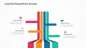 Colorful PowerPoint Arrows