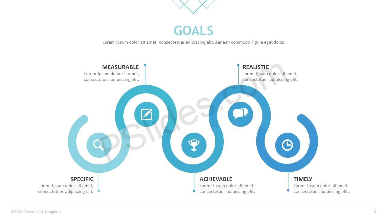Goals powerpoint template pslides goals template slide 1 goals template slide 2 toneelgroepblik Images