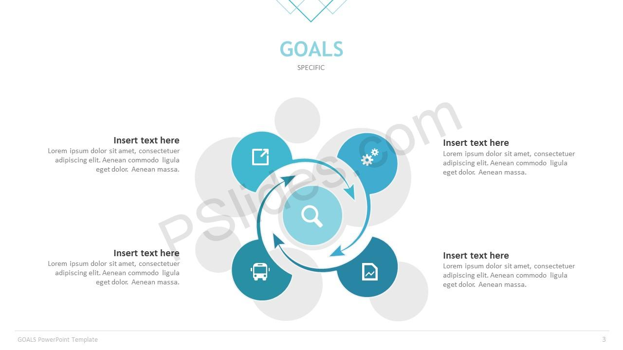 Goals powerpoint template pslides goals template slide 3 toneelgroepblik Images