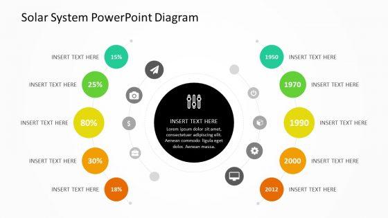 Solar System Diagram For Powerpoint Pslides