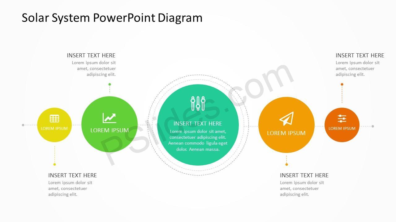 solar system diagram for powerpoint pslides planet diagram solar system diagram 4