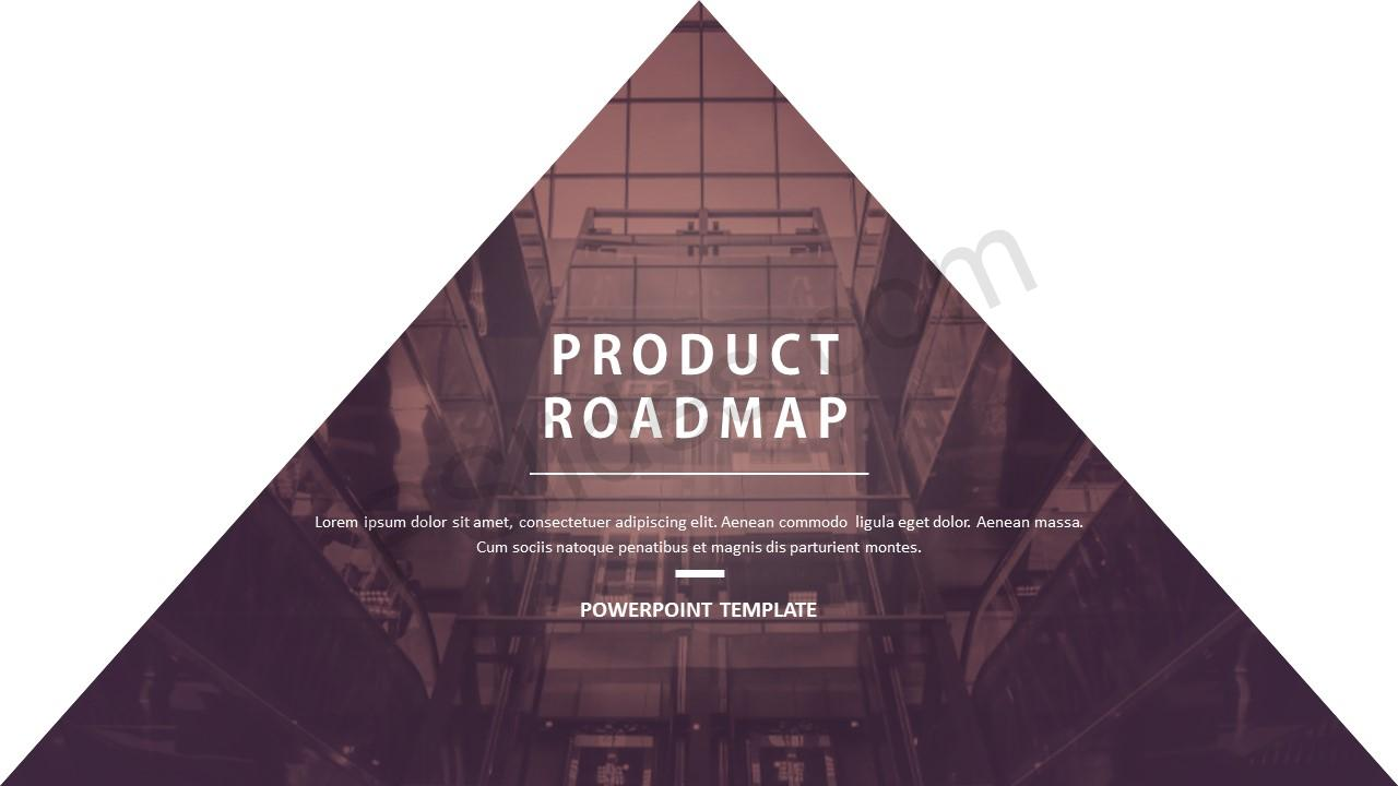 Product Roadmap PowerPoint Template - Pslides