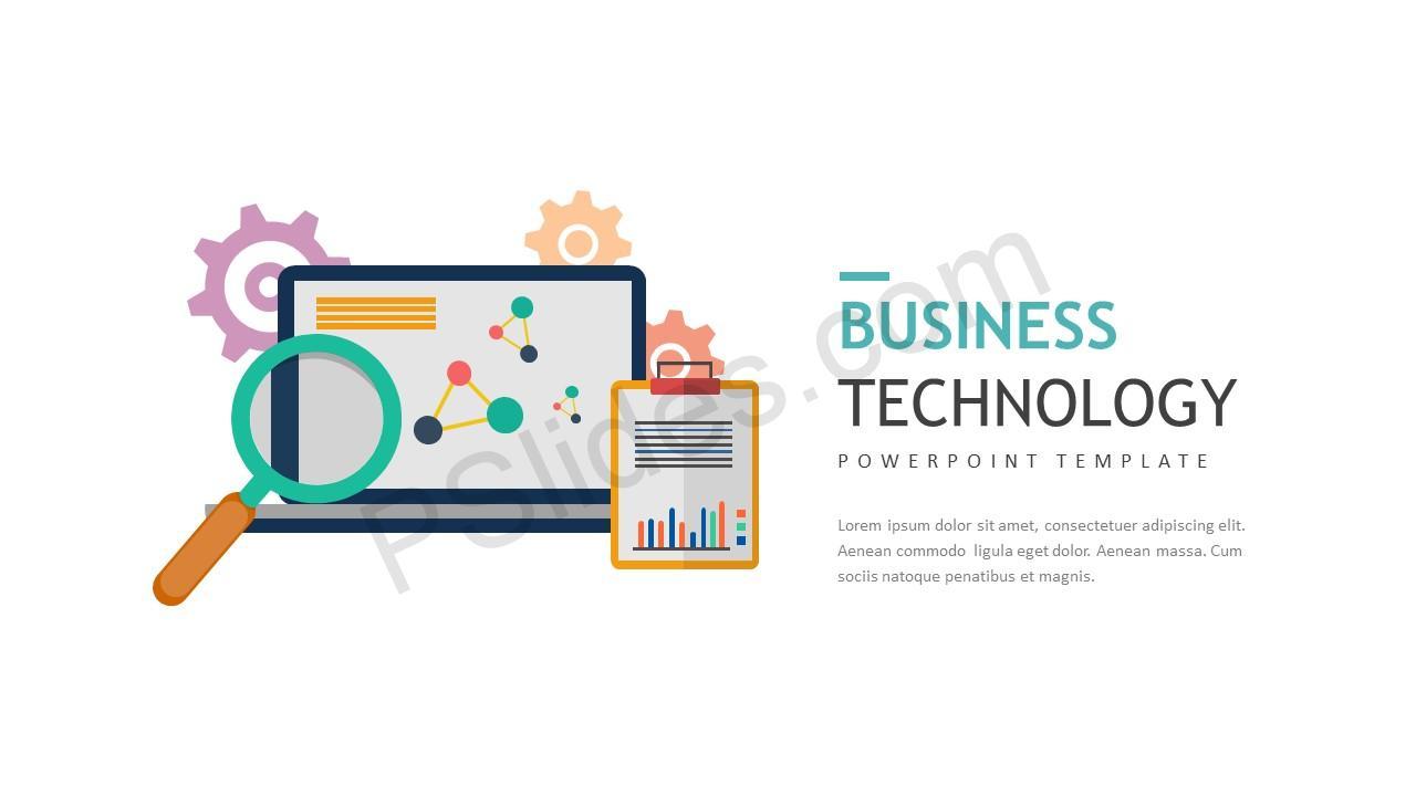 Business technology powerpoint template pslides business technology powerpoint template business technology 1 alramifo Gallery