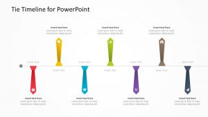 Tie Timeline for PowerPoint