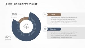 Pareto Principle PowerPoint Diagrams
