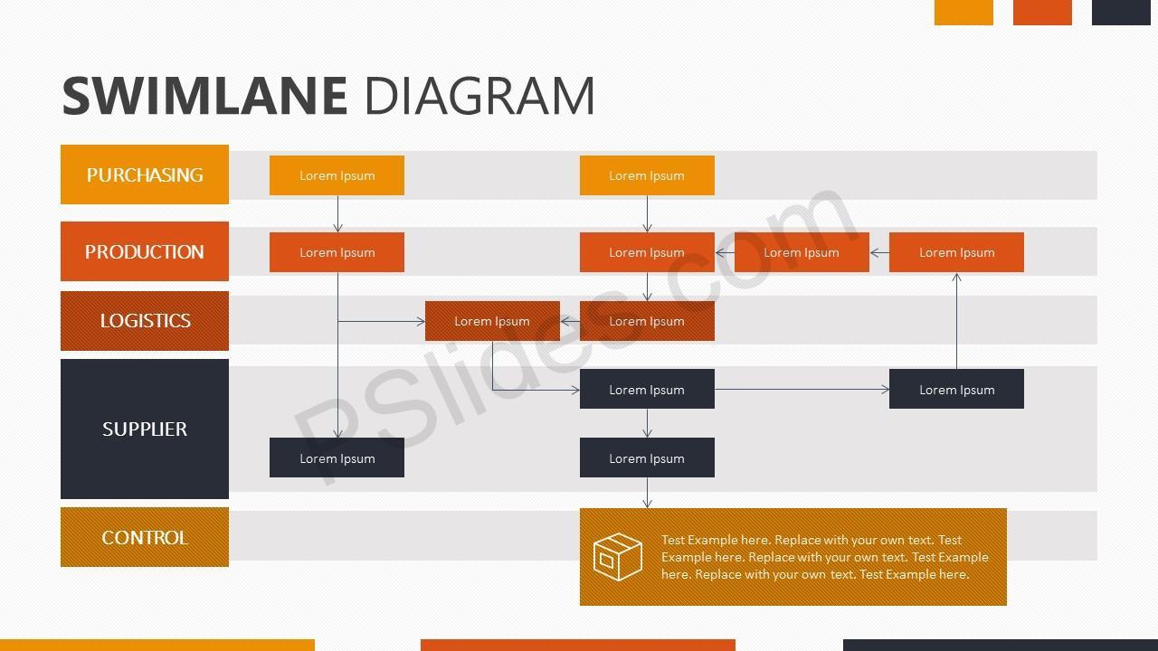 swimlane diagram for powerpoint pslides. Black Bedroom Furniture Sets. Home Design Ideas