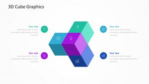3D Cube Graphics for PowerPoint