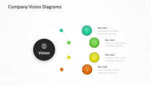 Company Vision Diagrams Slide 1