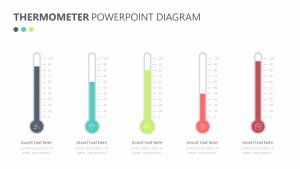 Thermometer PowerPoint Diagram