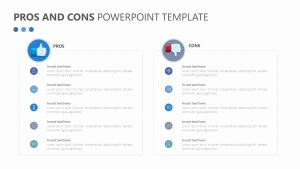 Free Pros and Cons Powerpoint Template