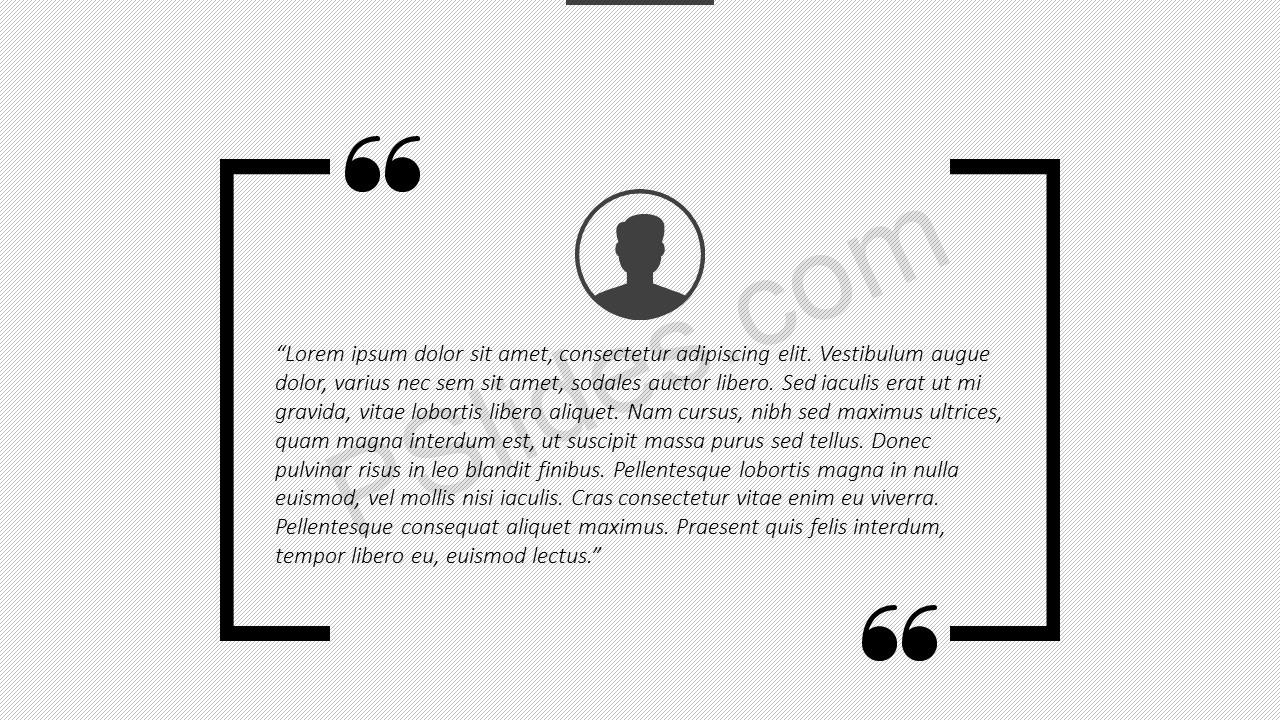 Quotes powerpoint template pslides quotes powerpoint template slide 3 toneelgroepblik Gallery