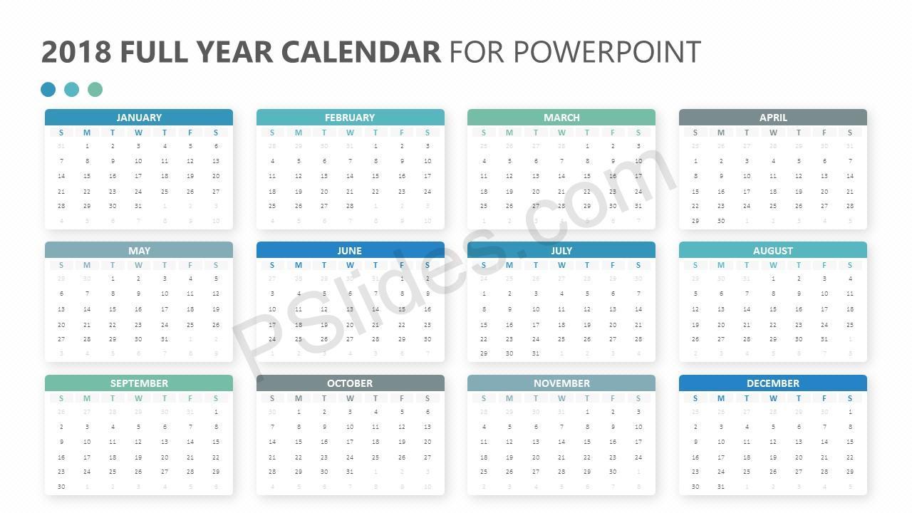 power point calendar