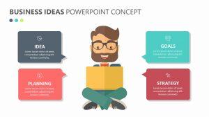 Business Ideas PowerPoint Concept Slide 1