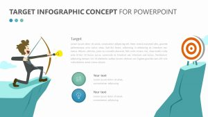 Target Infographic Concept for PowerPoint