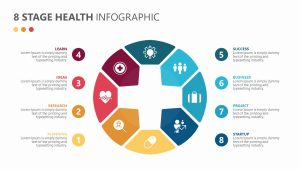 8 Stage Health Infographics
