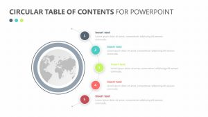 Circular Table of Contents for PowerPoint