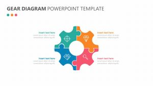 Gear Diagram PowerPoint Template