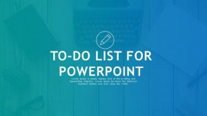 To Do List for PowerPoint