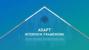 ADAPT Interview Framework