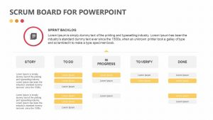 Scrum Board for PowerPoint