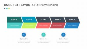 Free Basic Text Layouts for PowerPoint