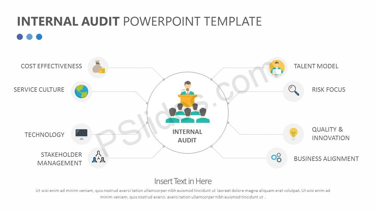internal audit procedure template - internal audit powerpoint template pslides