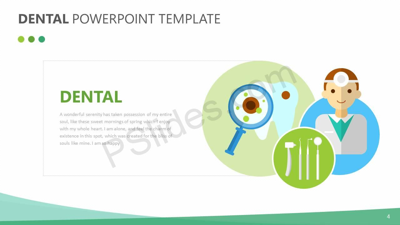 Dental powerpoint template slide4 pslides dental powerpoint template slide4 november 18 2017 toneelgroepblik Choice Image
