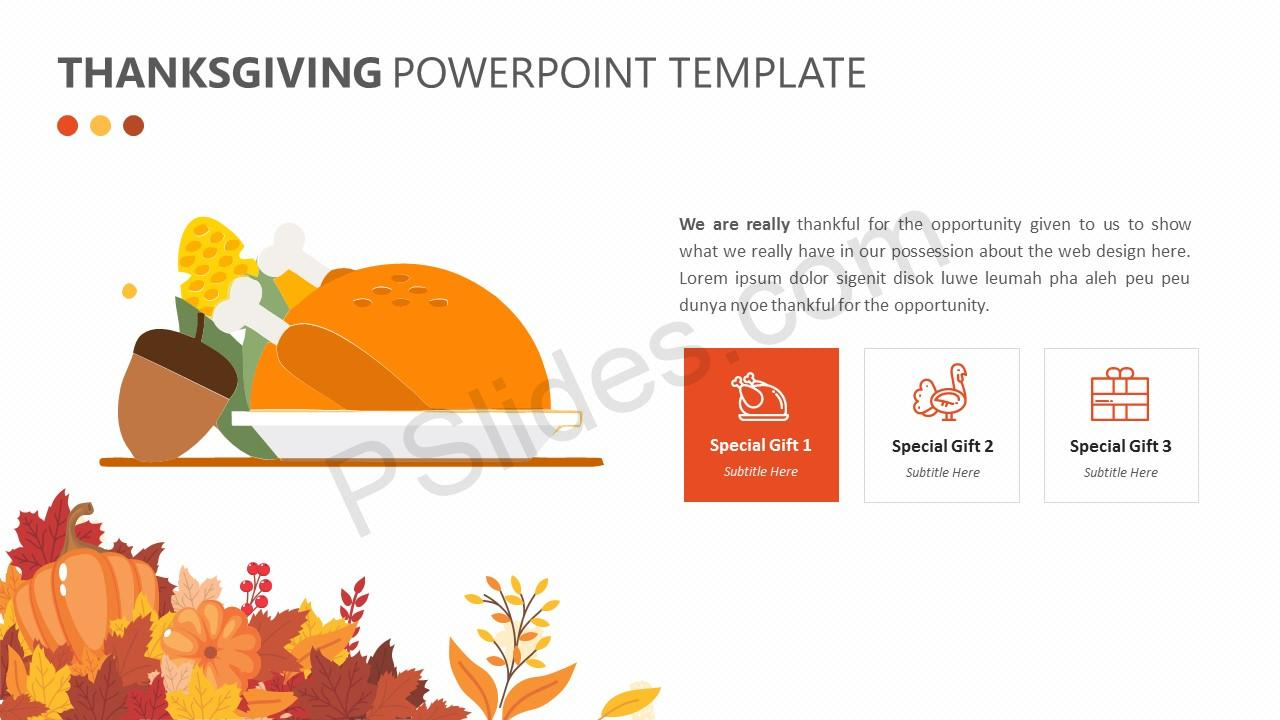 Free thanksgiving powerpoint template pslides thanksgiving powerpoint template 3 toneelgroepblik Image collections