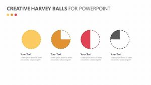 Creative Harvey Balls for PowerPoint