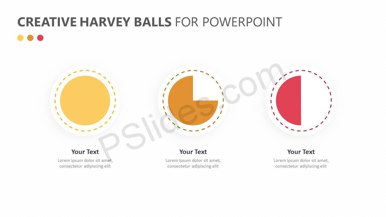 ... Harvey balls PPT slide 4 ...