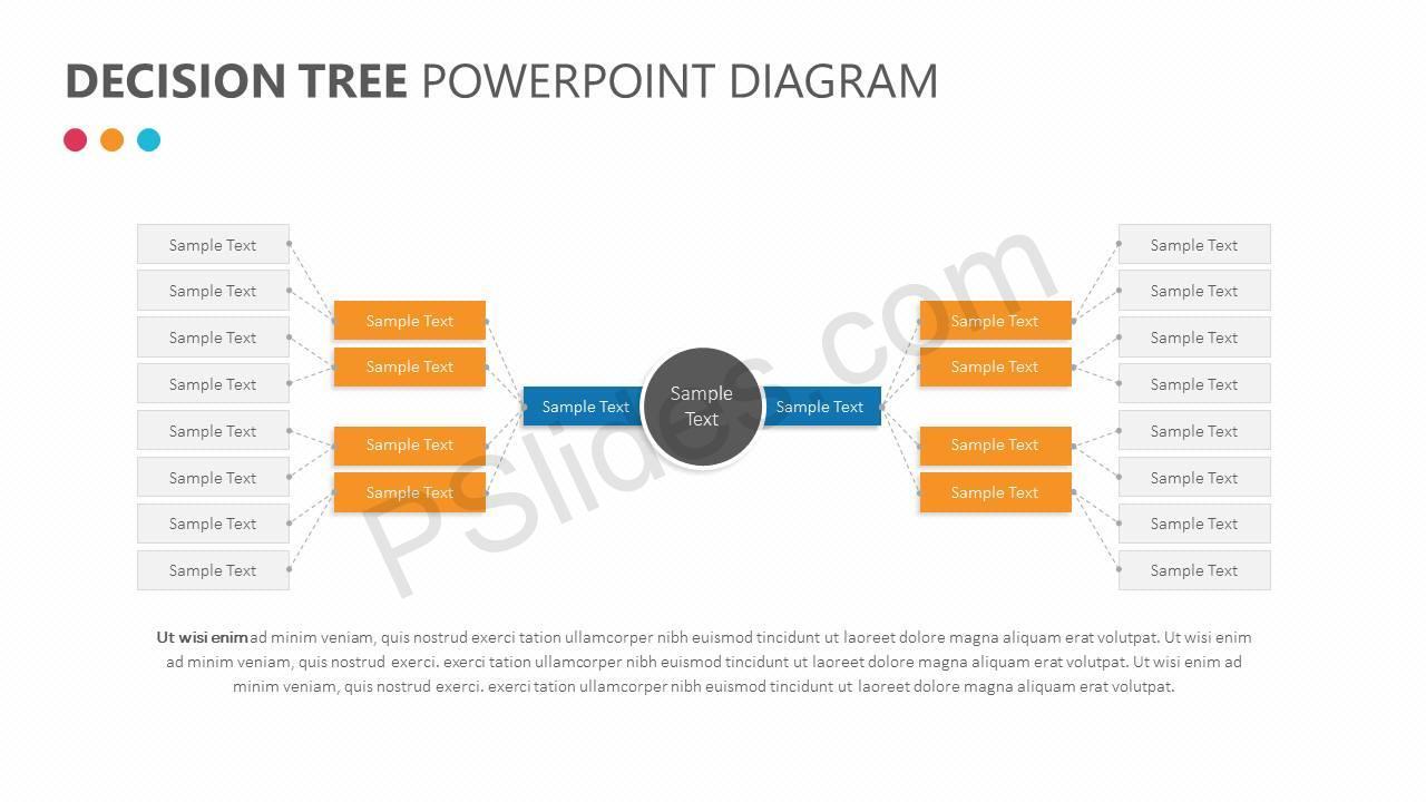 Decision tree powerpoint diagram pslides decision tree powerpoint diagram slide1 ccuart Choice Image