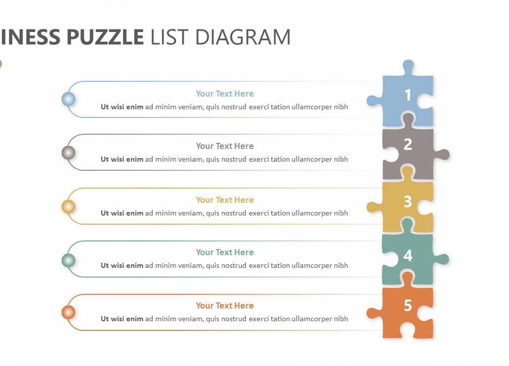 Business puzzle list diagram slide1 pslides post navigation ccuart Image collections
